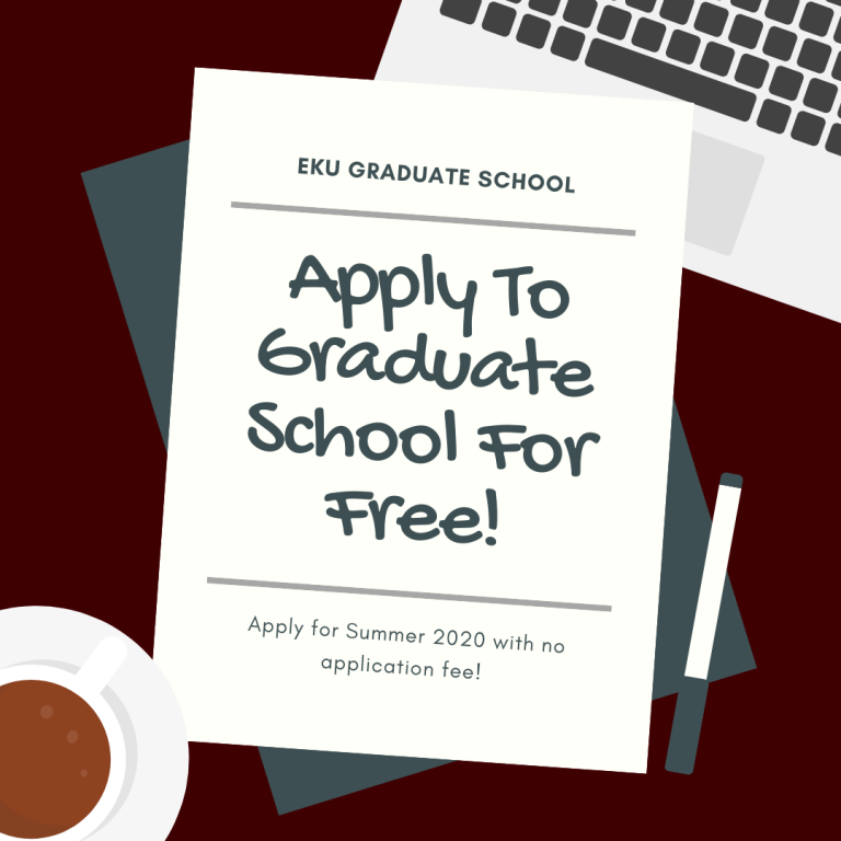 apply to graduate school for free summer 2020